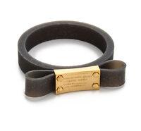 Marc Jacobs Bracelet Jelly Bow Bangle Black NEW