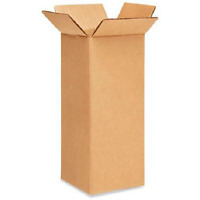 25 4x4x10 Cardboard Paper Boxes Mailing Packing Shipping Box Corrugated Carton