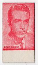 Spanish Weighing Weight Machine Card Calzados Garcera Actor Ricardo Montalban