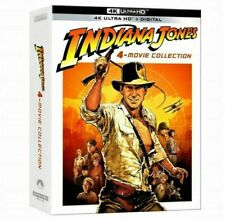 INDIANAJONES 4-Movie Collection (4K UHD Blu-ray + Digital Copy, 2021)