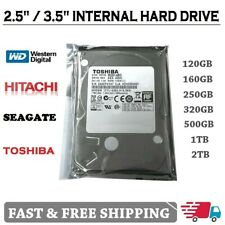 "Internal 2.5""/3.5""Hard Drive SATA HDD for Laptop Desktop PC CCTV Select Capacity"