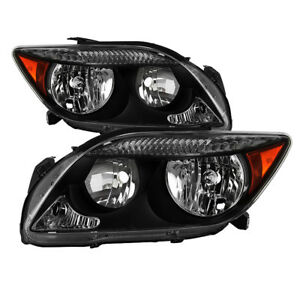 Fit Scion 05-07 tC Replacement Headlights Left + Right Set Lamps