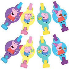 Peppa Pig Party Supplies BLOWOUTS Pack Of 8