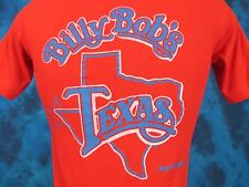vintage 80s BILLY BOB'S FORT WORTH TEXAS T-Shirt XXS/XS cowboy beer saloon thin