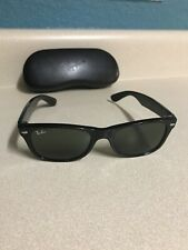 Ray-Ban NEW WAYFARER RB2132 Sunglasses Frame Italy 52-18mm 901 Black With Case