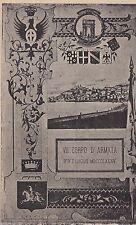 # MILITARI: VII CORPO D'ARMATA- cart. numerata 191