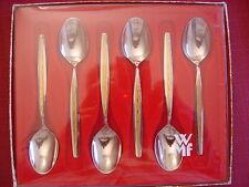 WMF Capri Cromargan 6 cucharillas de café NUEVO Y emb.orig.