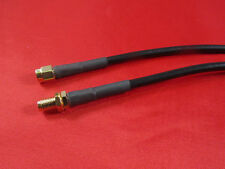 30 ft  RFC195, Wi-Fi RP-SMA Male to Female Antenna Extension Cable .