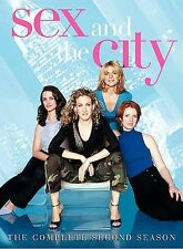 Sex and the City: The Complete Second Season . 3-Disc Set)