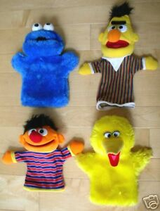 Applause Sesame Street Friends 4 Puppets