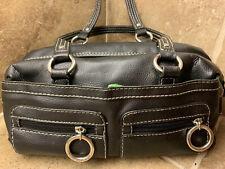 🔥Tommy Hilfiger Pebble Black Leather Hobo Medium Shoulder Purse BEST DEAL🔥