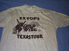Original Crew Shirt Zz Top 1976 Arrested For Driving While Blind Large or Medium