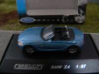 1/87 Welly BMW Z4 blaumetallic Cabriolet 73103SW