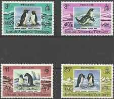 Timbres Oiseaux Antarctique GB 78/81 ** lot 18034