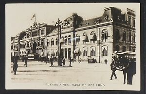 ARGENTINA 12-BUENOS AIRES -Casa de Gobierno, Real Photo (RPPC)