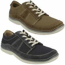 Zapatos informales de hombre con cordones de lona