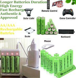 AA / AAA Battery Rechargeable Solar Light Batteries 1.2v 600 700mAh AA Nicd Pack