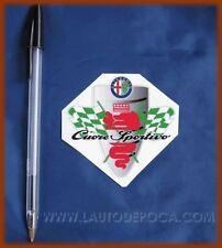 ADESIVO ALFA ROMEO CUORE SPORTIVO - ALFA 75 147 156