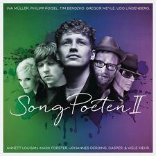 SONGPOETEN II (CRO, TIM BENDZKO, CLUESO, MARK FOSTER,...) 2 CD NEU
