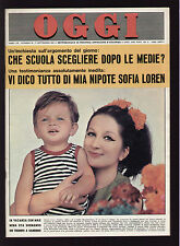 OGGI 38/1964 MINA BANDINI SURTEES TOTO' GHENO LIBRALATO BARONIO CORAIN PARA'