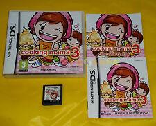 COOKING MAMA 3 Nintendo Ds Versione Ufficiale Italiana ○○○ COMPLETO - AJ