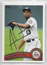 Austin Wates Signed Autographed 2011 Topps Pro Debut Card