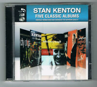 ♫ - STAN KENTON - FIVE CLASSIC ALBUMS - 2 CD SET - TRÈS BON ÉTAT - ♫