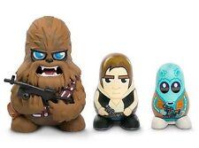Star Wars Chubby Series 1 - Chewbacca Han Solo Greedo