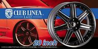 Aoshima Tuned Parts 28 Club Linea L 612 20inch Tire & Wheel Set