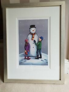 Paul Horton - Man Of Snow-SOLD OUT Framed Mounted Print - Limited Edition-COA