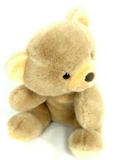 Princess Soft Toys Plush Light Brown Seated Teddy Bear with Head Sideways