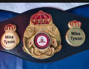 MIke Tyson High Quality New Super WBA World Boxing Belt Adult Size Replica