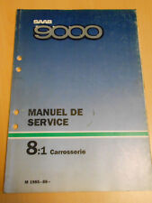 SAAB 9000 manuel de service carrosserie