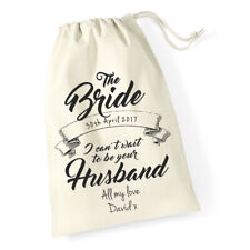 Personalised Gift Bag for The Bride To Be Wedding Day, Morning Wife to be gift