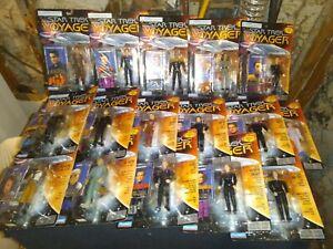 Star trek action figures lot