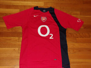 NIKE 90 ARSENAL SOCCER JERSEY MENS SMALL EXCELLENT CONDITION