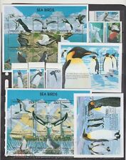 Tanzania 1999 penguins birds set+2klb+2s/s MNH