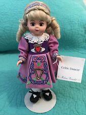 "Madame Alexander 8""Wendy•Irish""CELTIC DANCER""•Step Dancing•Purple Dress/Claddagh"