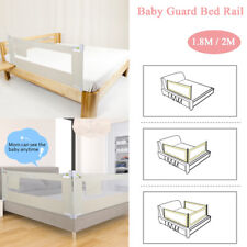 Bed Rails for Toddlers Baby Crib Fence Portable Folding Bed Cover Child Toddler Safety Side Rail Height Adjustable with Lockable Buckle Crib guardrail