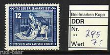DDR Nr.   295  **  Tag der Briefmarke