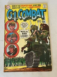 G.I. Combat # 138  (1969 ) DC War Comic 1st Appearance of the Losers.