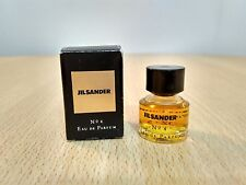 Jil Sander No 4 for Women EDP 5 ML MINI MINIATURE PERFUME FRAGRANCE New w/ box