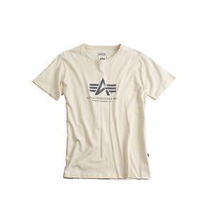 Alpha Industries Shirt T-Shirt black navy white olive grey neue Farben Ind. neu