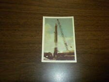 MISSILES AND SATELLITES trading card #38 PARKHURST 1958 space rockets planets