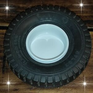 VINTAGE VERY RARE FATE TIRE TYRE ARGENTINA ASHTRAY AD RUBBER WHEEL