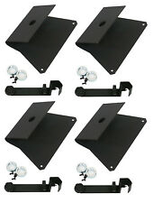 4 Complete Stand Adapter Mount Kit For Aviom A-16II MT-1 Personal Monitor Mixer