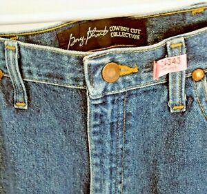 Men's Wrangler George Strait Cowboy Cut Jeans Size 31 X 35   EUC