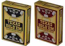 2 x COPAG TEXAS HOLDEM 100% Plastic POKER PLAYING CARDS
