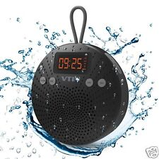 Altavoz Ducha Bluetooth Impermeable Con Radio Despertador Estereo Manos Libres
