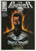 THE PUNISHER #1 NM+ SIGNED 2X DYNAMIC FORCES EXCLUSIVE ALTERNATE COVER W/COA